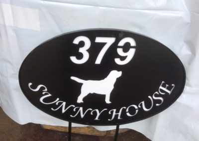 house-sign